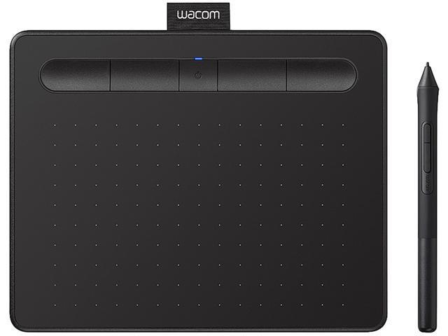 Wacom Intuos Bluetooth Small Black CTL4100WLK0 - Newegg com