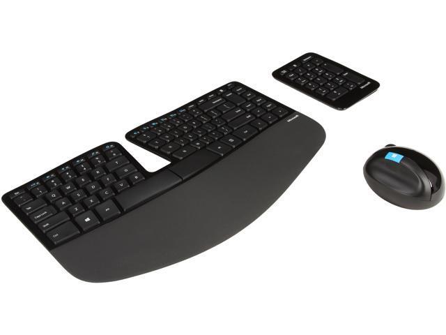 Microsoft Wireless Sculpt Ergonomic Desktop - Newegg com