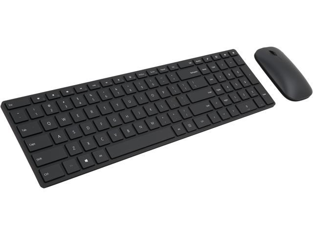 1f8b7da6737 Microsoft Designer Bluetooth Desktop 7N9-00001 Black Bluetooth Wireless  Slim Keyboard & Mouse