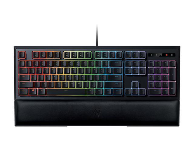 Razer Ornata Chroma - RGB Mecha-Membrane Gaming Keyboard with Mid-Height Keycaps - RZ03-02040200-R3U1