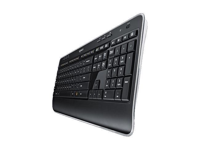 Logitech MK520 2 4 GHz Wireless Keyboard and Mouse Combo - Black -  Newegg com