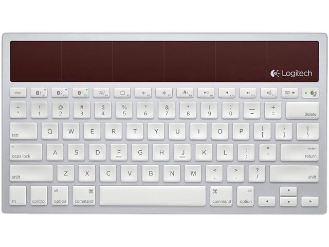 Logitech Wireless Solar Keyboard K760 K760 Bluetooth Wireless Keyboard Newegg Com