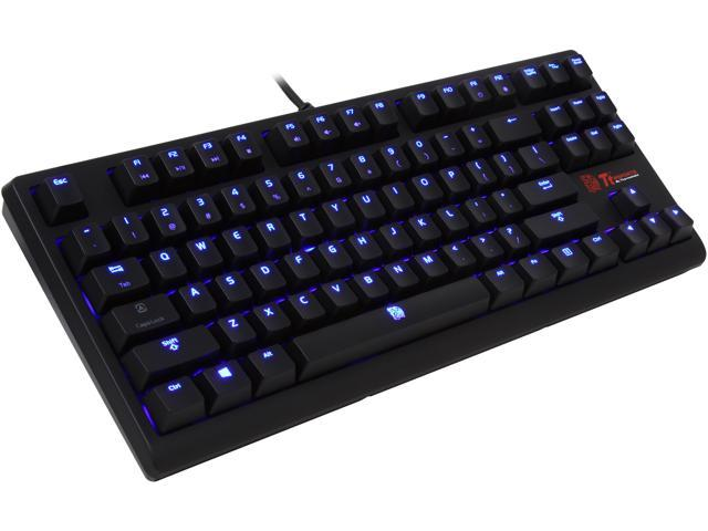 c0ad11abf74 Tt eSPORTS Poseidon ZX Illuminated Mechanical Gaming Keyboard - Blue  Switches