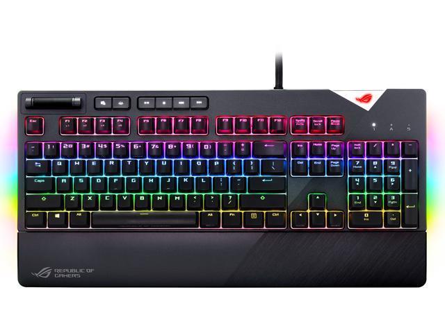 ASUS ROG Strix Flare RGB Mechanical Gaming Keyboard with Aura Sync - Cherry  MX Brown - Newegg com