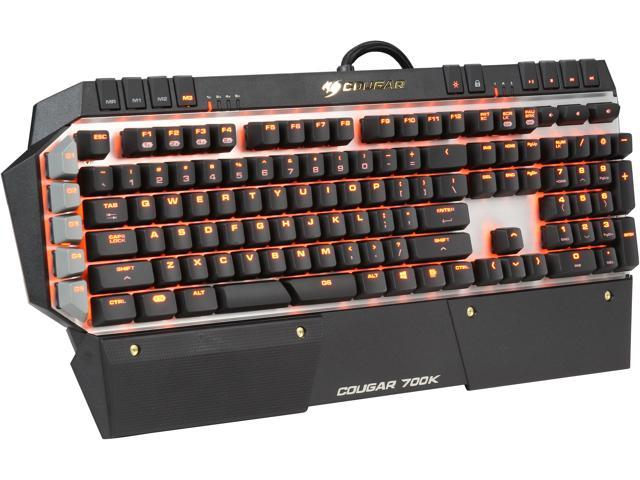 38e4300e885 COUGAR 700K Premium Mechanical Gaming Keyboard with Aluminum Brushed  Structure, Additional 6 G-key, and Cherry Red Switches - Newegg.ca