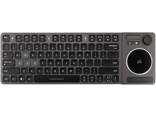 313cfa938 Corsair K83 Wireless Entertainment Keyboard, Backlit White LED ...