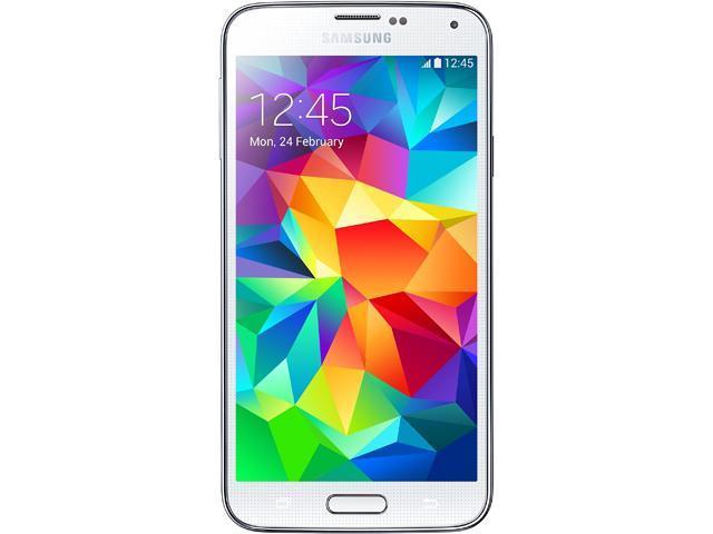 Samsung Galaxy S5 SM-G900A 16GB (AT&T) 4G LTE + Unlocked GSM Smartphone -  White - Newegg com