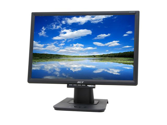 DRIVERS UPDATE: ACER AL1916W MONITOR