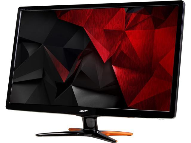 acer gn246hl 24 full hd 1920 x 1080 144hz 1ms dvi hdmi vga immersive 3d backlit led gaming monitor newegg com newegg