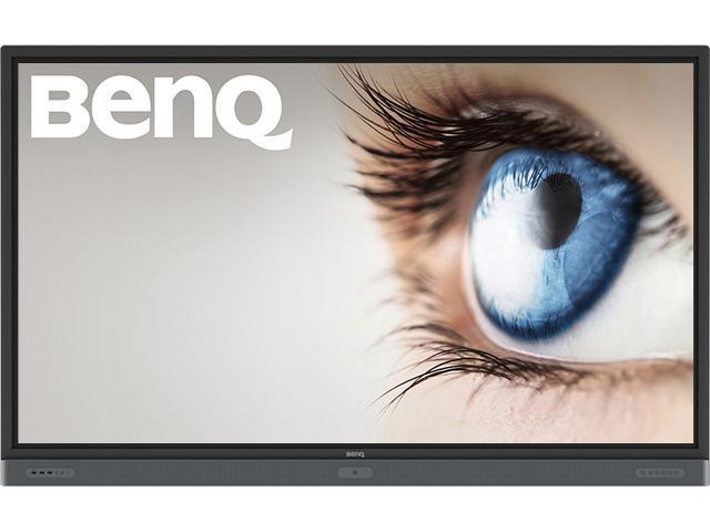 "BenQ RP8601K (9H.F4TTK.DE2) Black 86"" USB Multi Touch (20 point) IR Interactive Flat Panel / 16:9 / VGA, HDMI, DP / Speakers / Android"