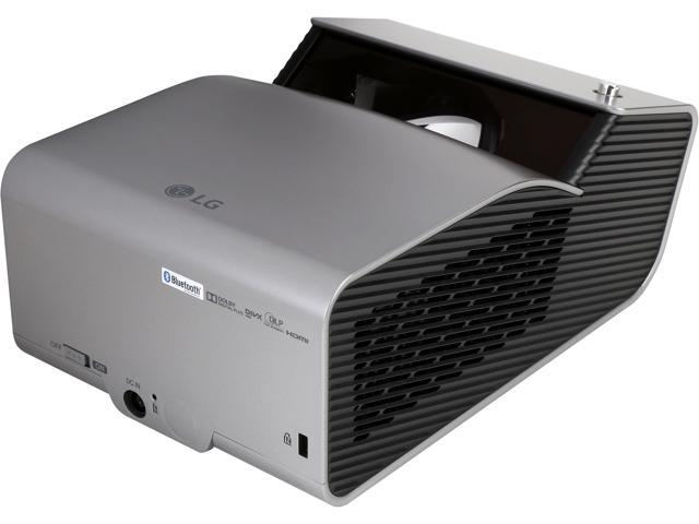 LG PH450UG Ultra Short Throw LED HD 1280 x 720, 100,000:1 Projector with Embedded Battery and Wireless Screen Share, Built-in Speaker