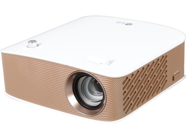 LG PH150G LED RGB Pico / Portable Projector with Embedded Battery and Wireless Screen Share Up to 130 Lumens HD (1280 x 720), Built-in Speakers