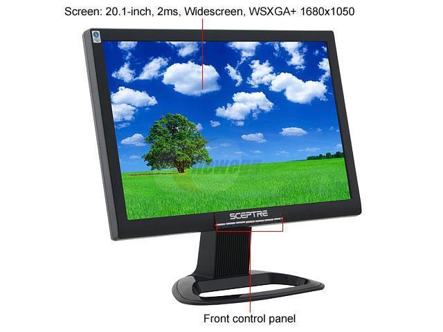 "Amazon. Com: sceptre x20g-nagaiii 20"" widescreen lcd monitor."