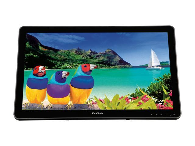 "16:9-25 ms Viewsonic TD2430 24/"" LCD Touchscreen Monitor"