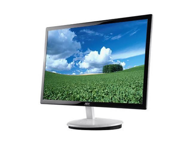 aoc e2343f black white 23 5ms led backlight lcd monitor slim rh newegg com  aoc e2343f manual
