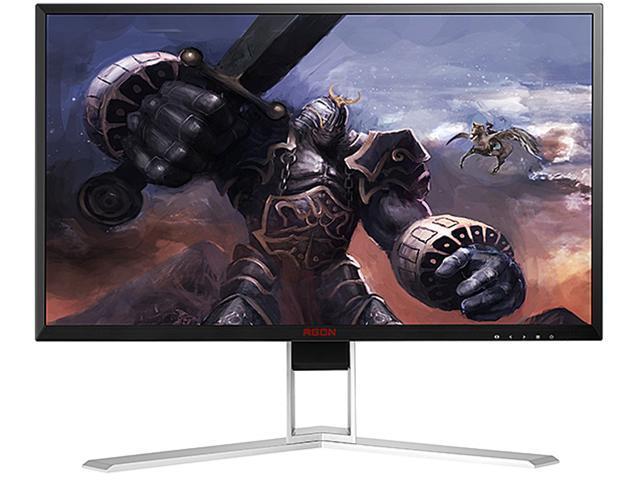 "AOC AGON AG241QX 24/"" WQHD 2560x1440 144hz Freesync LCD Gaming Monitor"