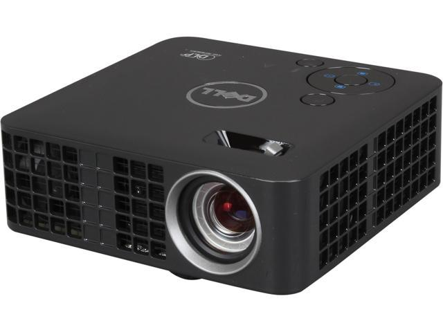 Dell M115HD WXGA 1280x800 HDMI USB Inputs w/ 1GB Internal Memory 450 ANSI  Lumens Mobile LED Projector