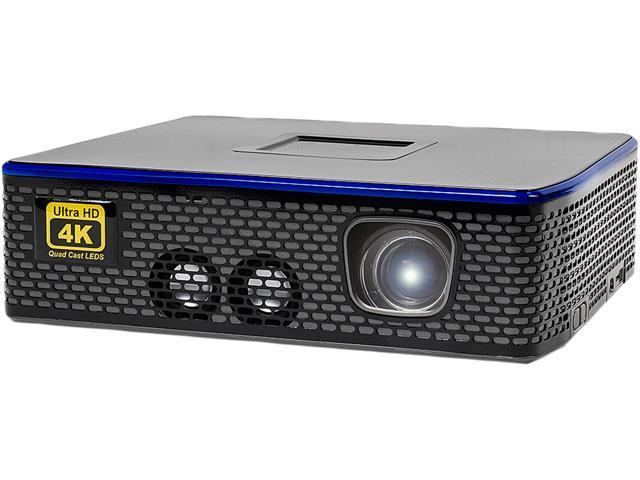 AAXA 4K1 Mini LED Home Theater Projector, Native 4K UHD Resolution, Dual  HDMI with HDCP 2 2, 30,000 Hour LEDs, Mercury Free, 1500 Lumens, E-Focus,