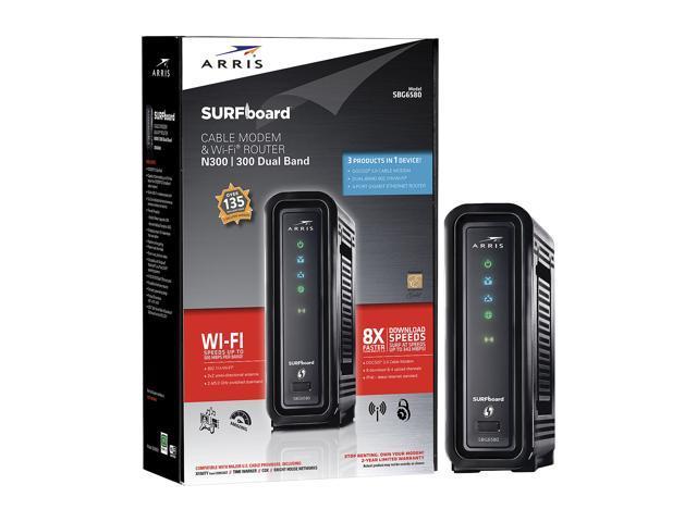 ARRIS SBG6580 SURFboard Wireless Cable Modem Gateway - Newegg com