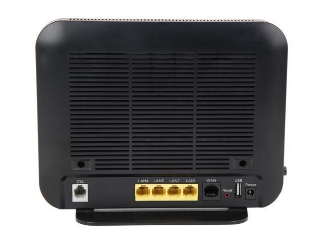 MOTOROLA MD1600-10 VDSL2 / ADSL2+ Modem Plus AC1600 Wi-Fi Gigabit Router -  Newegg com