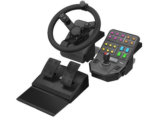 f6ef87fefda Saitek SCB432160002/01/1 Farming Simulator Wheel, Pedals, and Vehicle Side  Panel