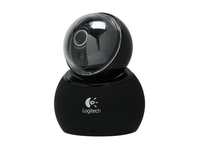 Logitech QuickCam Orbit AF Webcam Carl Zeiss Optics Motorized Tracking
