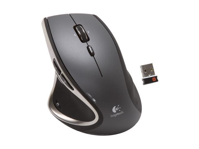 ee4304e2c92 Logitech Wireless Performance Mouse MX for PC and Mac, Large Mouse, Long  Range Wireless Mouse