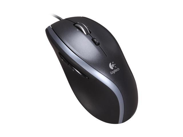 Logitech M500 Black Corded Laser Mouse - Newegg com
