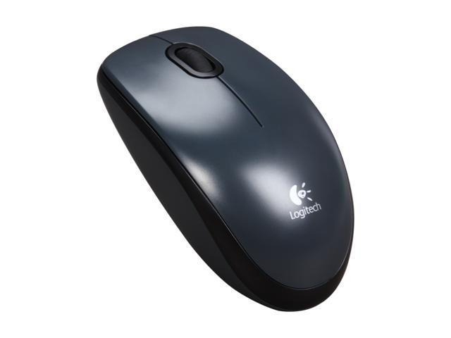 Logitech M100 910-001601 Black Wired Optical Mouse - Newegg com