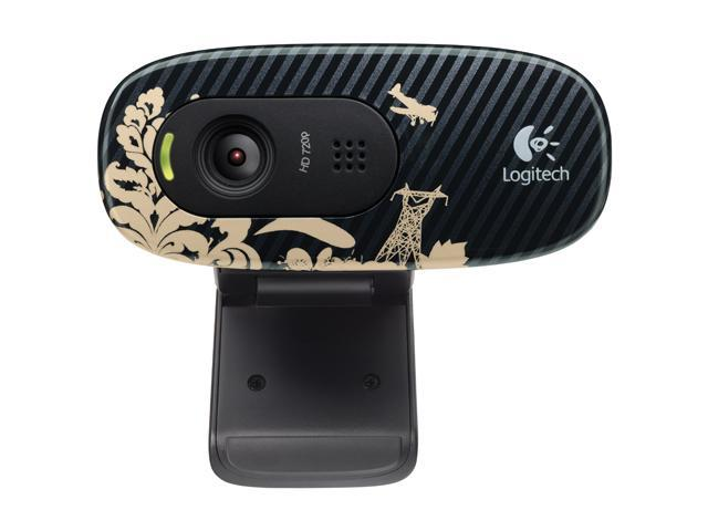 Logitech C270 USB 2.0 WebCam Victorian Wallpaper