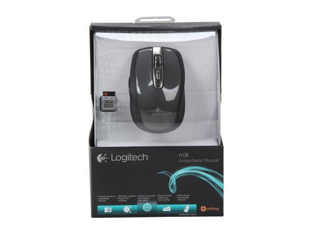 Logitech Wireless Anywhere Mouse MX for PC and Mac - Black - Newegg com