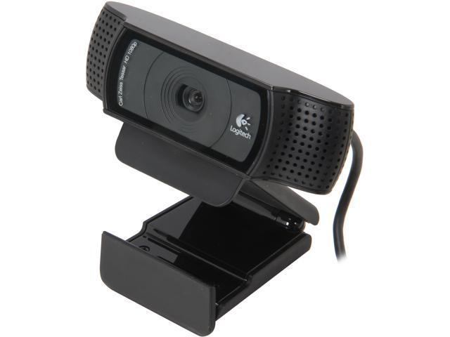Refurbished: Logitech C920 HD Pro Webcam - Newegg com