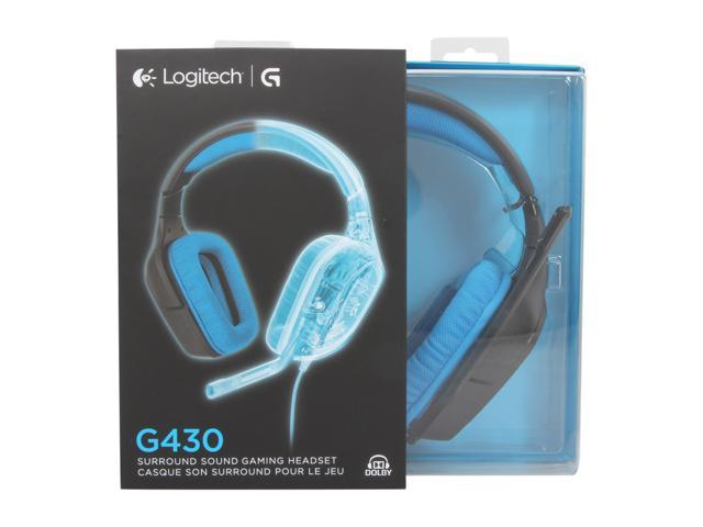 Logitech G430 7.1 DTS Headphone X /& Dolby Surround Sound Gaming Headset For PC P