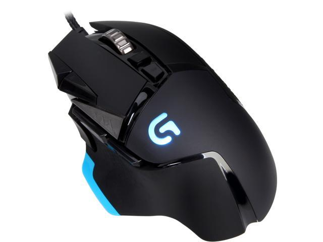 11 Programmable Buttons Adjustable Weights 12,000 DPI German Packaging Logitech G502 Proteus Spectrum RGB Tunable Wired Gaming Mouse Black Compatible with PC//Mac