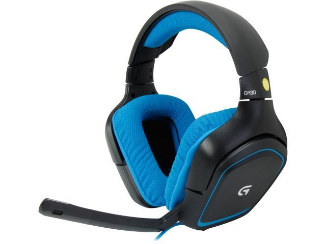 Refurbished: Logitech Recertified 981-000536 G430 Circumaural Surround  Sound Gaming Headset - Newegg com