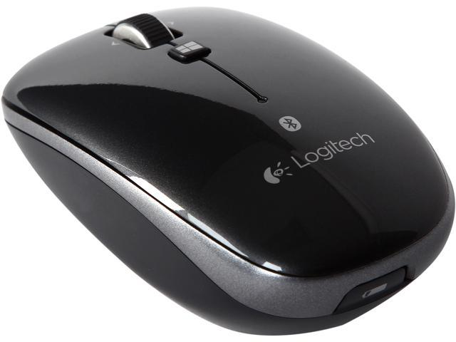 Logitech M557 910-003971 Black Bluetooth Wireless Optical Mouse - Newegg com