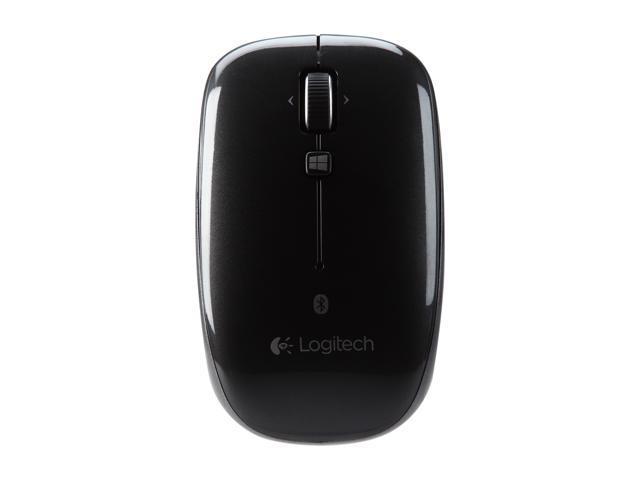 Logitech M557 910-003971 Black Bluetooth Wireless Optical Mouse - Newegg com