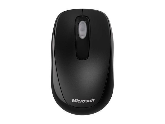 11e0749a544 Microsoft 2CF-00002 Black 3 Buttons 1 x Wheel USB RF Wireless 1000 dpi Mobile  Mouse 1000