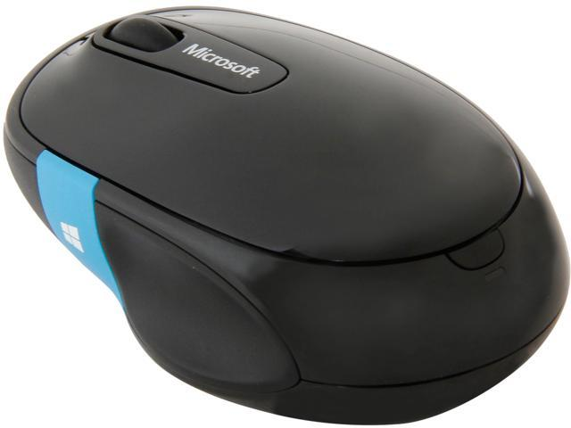 5b78cfd188e Microsoft Sculpt Comfort Mouse H3S-00003 Black Tilt Wheel Bluetooth  Wireless BlueTrack Mouse