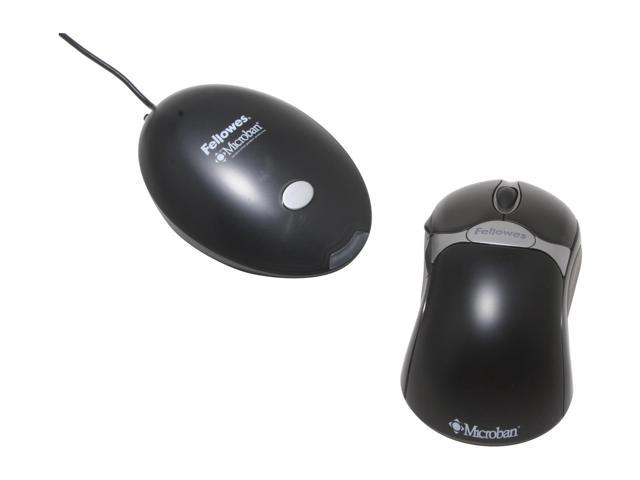 b9c8513f8a6 Optical Cordless Mouse, Antimicrobial, Five-Button/scroll, Black/silver ...