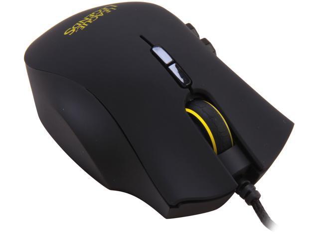 RAZER Naga Hex League of Legends Edition RZ01-00750300-R3M1 Black Wired  Laser Mouse - Newegg com