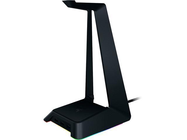 Razer Base Station Chroma - RGB Enabled Headset Stand with USB Hub - 16 8  Million Color Combinations - RC21-01190100-R3M1 - Newegg com