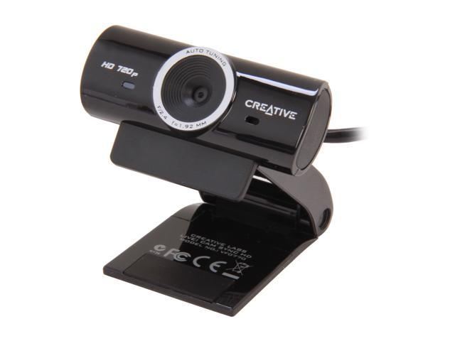Creative 73VF077000000 USB 2.0 Creative Live! Cam Sync HD Webcam ...