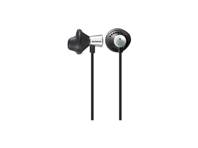 SONY Silver MDRED12LP/SLV 3.5mm Connector Canal Bud Style Earphones(Silver)