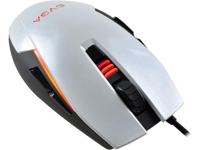 quality design b1c2b f5aff EVGA TORQ X5 902-X2-1052-KR Silver Black 8 Buttons 1