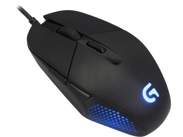 5e33ffaf80d Logitech G302 Daedalus Prime Moba 910-004205 Black 6 Buttons 1 x Wheel USB  Wired Delta Zero sensor 4000 dpi Gaming Mouse