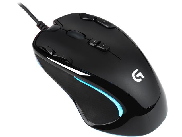 Logitech G300S 910-004360 9 Buttons 1 x Wheel USB Wired Optical Gaming Mouse