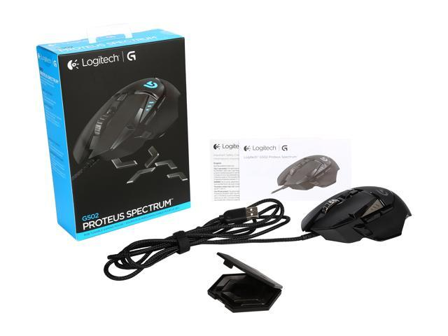 Logitech G502 Proteus Spectrum RGB Tunable Gaming Mouse (910-004615) -  Newegg com