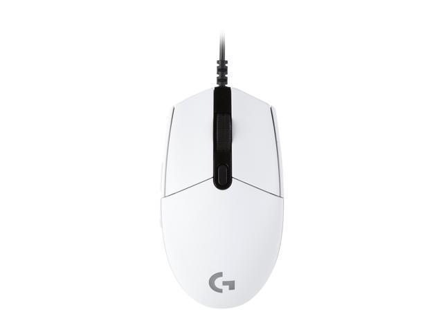 Logitech G203 Prodigy Wired Gaming Mouse - White - Newegg ca