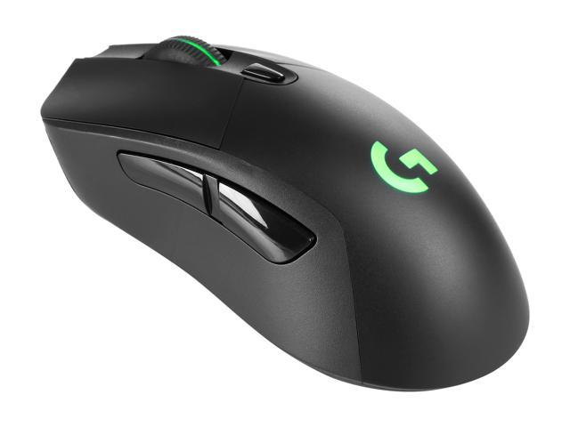Logitech G703 LIGHTSPEED Wireless Gaming Mouse, RGB Lighting, 12,000 dpi,  Black, with POWERPLAY Wireless Charging Compatibility - Newegg com